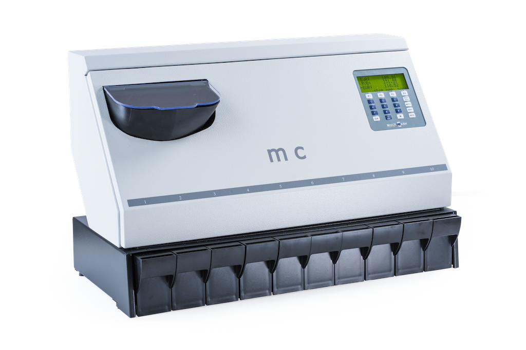 MC 10-14 ACTIVE - coin counting - sorting - back office