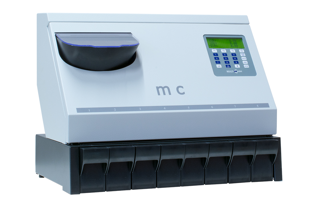 MC 8-14 active - coin counting - sorting - coin counter - back office
